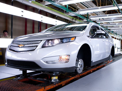 Chevy Volt Assembly Production